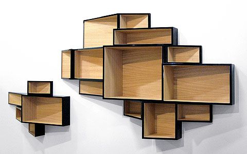 Limited edition SheLLf bookcase. Designed by Ka-Lai Chan. So Dope!