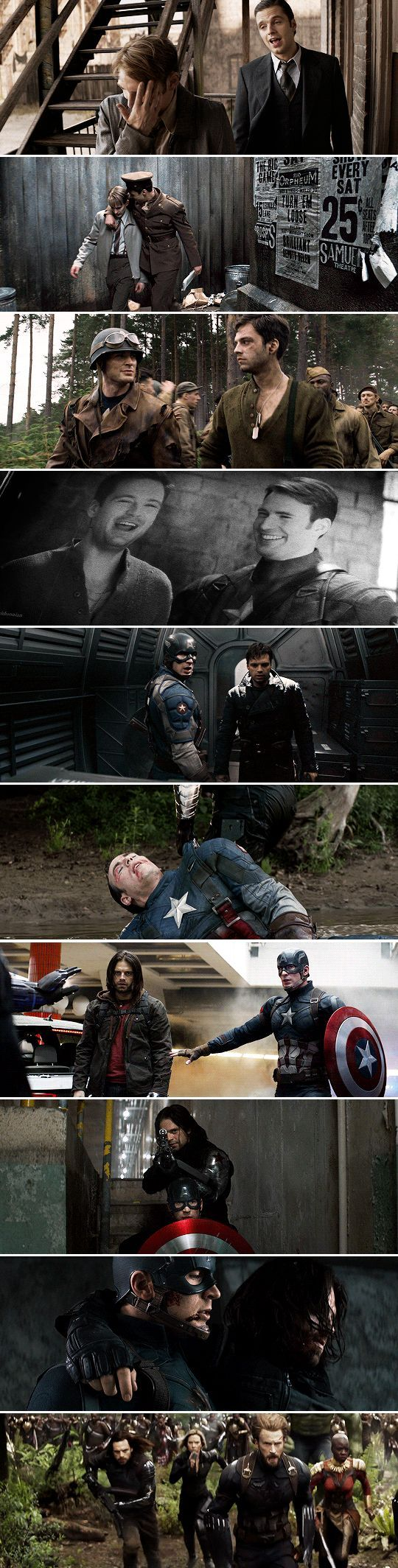 I M With You Till The End Of The Line Bucky And Steve