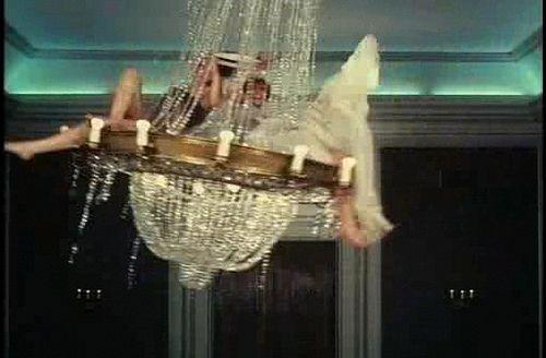 Chandelier Swinging