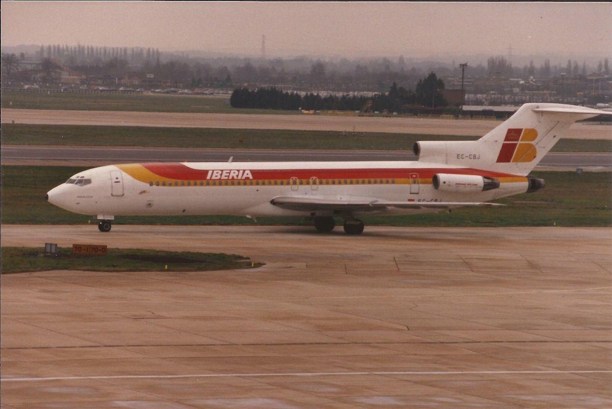 Iberia Boeing 727256 Boeing 727, Aviation world, Iberia