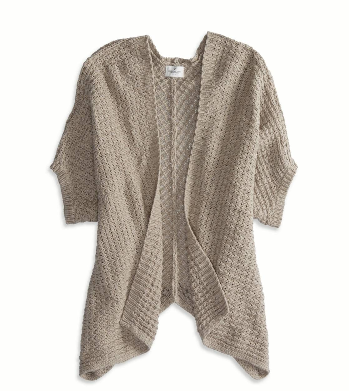AE Short Sleeve Open Cardigan | Clothing to Buy | Pinterest | Open ...