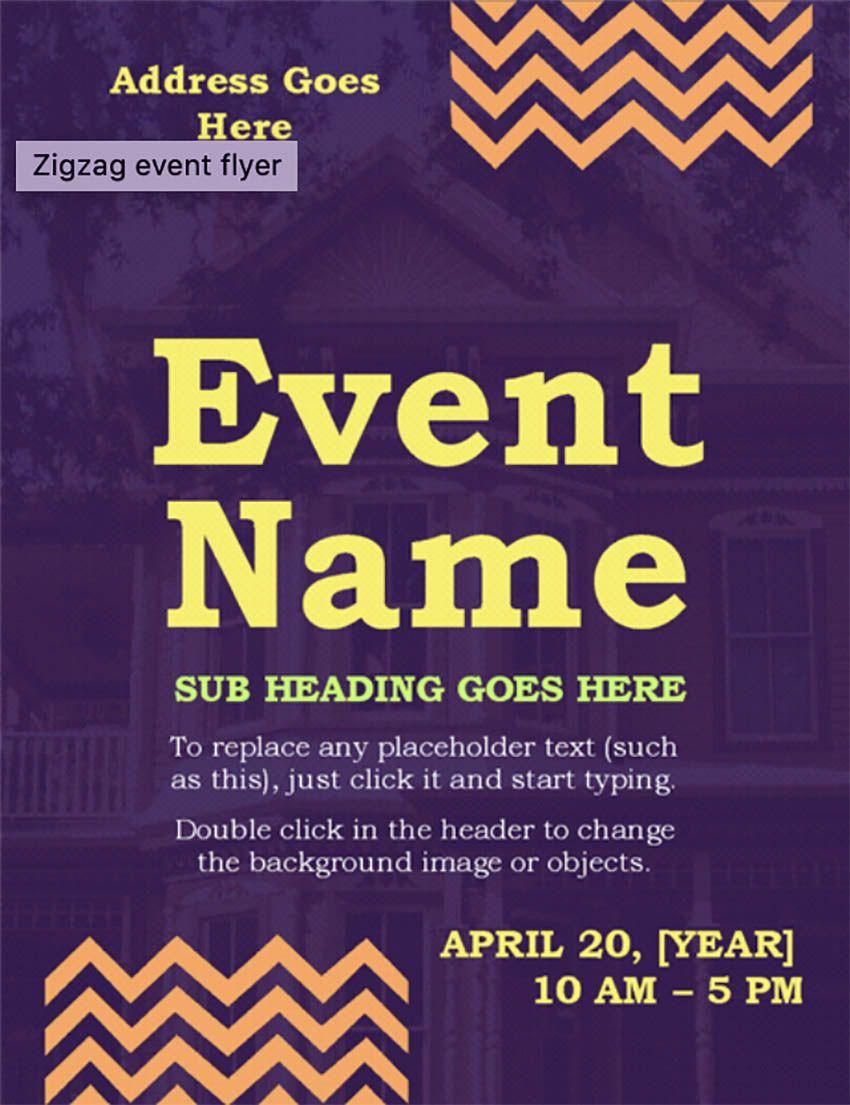 20 Best Free Microsoft Word Flyer Templates Printable Inside Garage Sale Flyer Template Word Best Sample T Event Flyer Event Flyer Templates Flyer Template