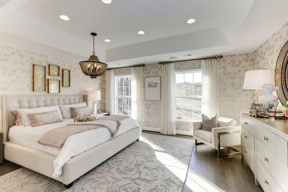 31 Lovely Transitional Bedroom Designs Ideas To Get Inspiration Bedroom Design Transitional Bedroom Design Home Decor Styles