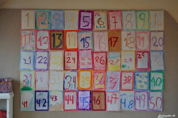 Make your own countdown calender for a special occasion. sweet blog too