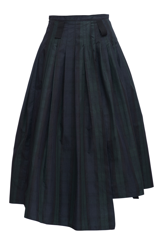 7181150291 Darling Skirt in Blackwatch Tartan Japanese Taffeta   hanger&drawers ...