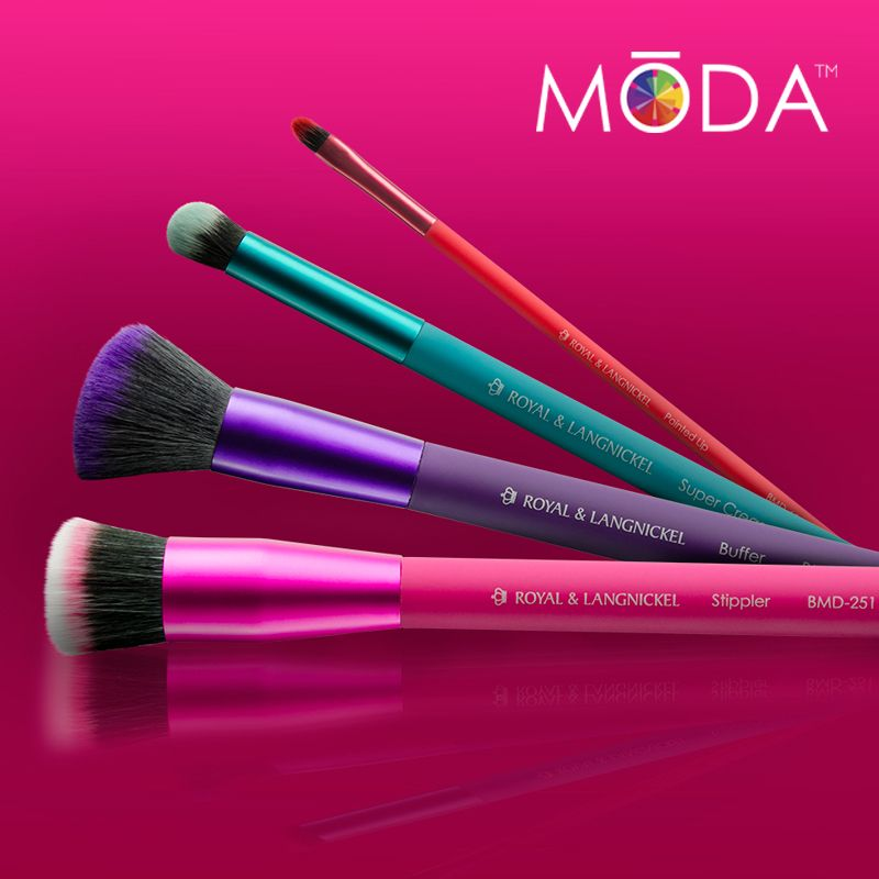 Pointed Liner Professional Makeup Brush by moda #12
