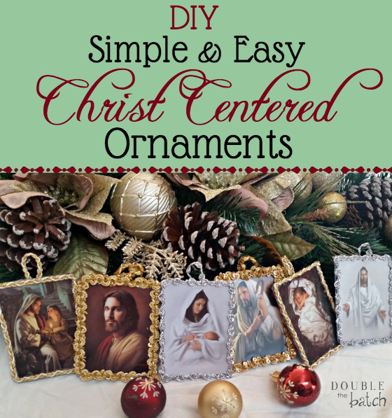 Diy Simple And Easy Christ Centered Ornaments Christmas Ornaments To Make Christmas On A Budget Christmas