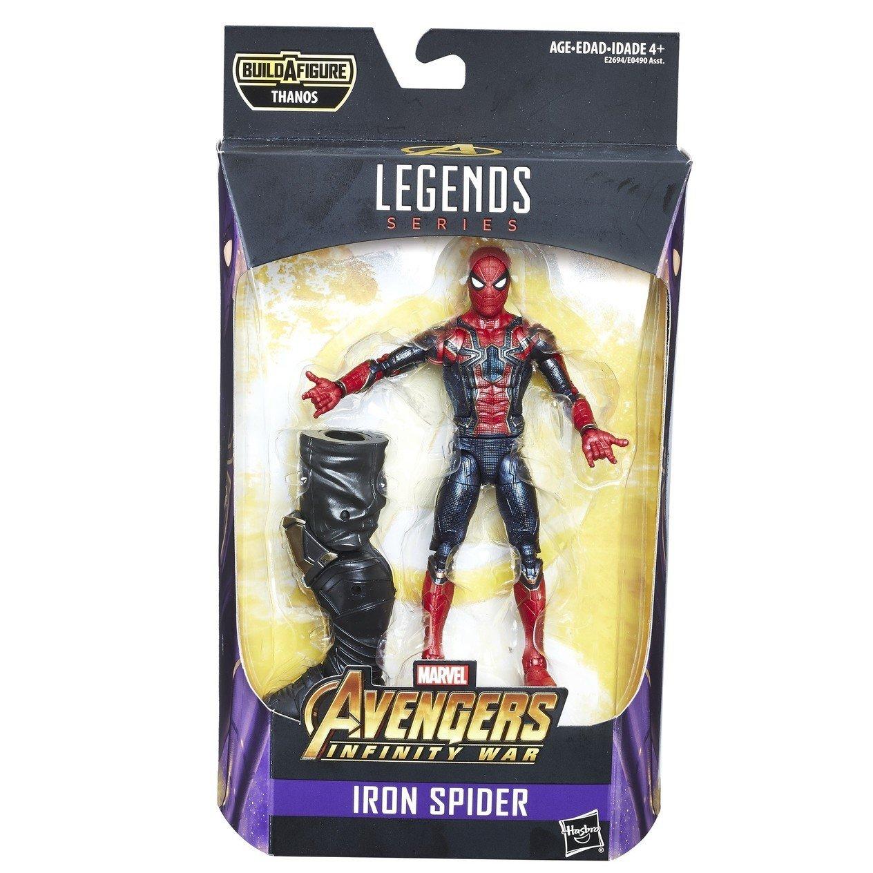 Captain America Marvel Legends Infinite Avengers BAF Thanos Action Figure SEALED