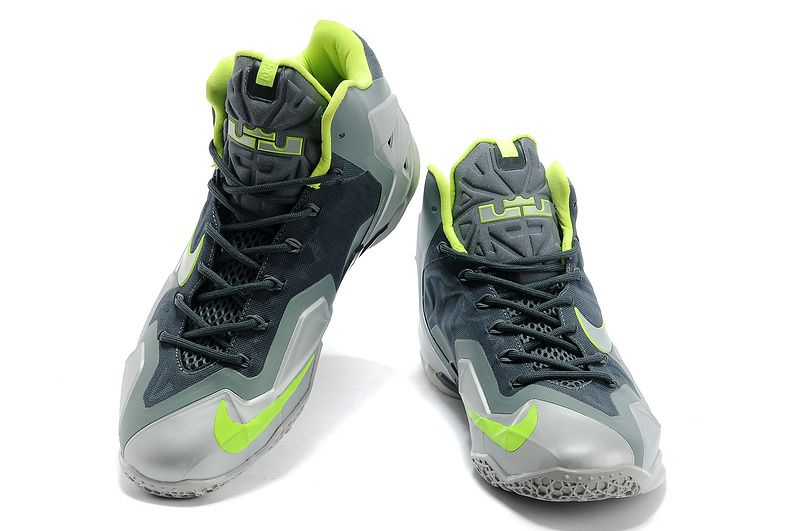 premium selection 395b2 9c112 Nike LeBron 11  Dunkman  Mica Green Sea Spray-Dark Mica Green-Volt   Nike  lebron, Lebron 11 and Sea spray