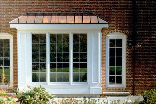 Box Bay Window With Door House Project Ideas Pinterest