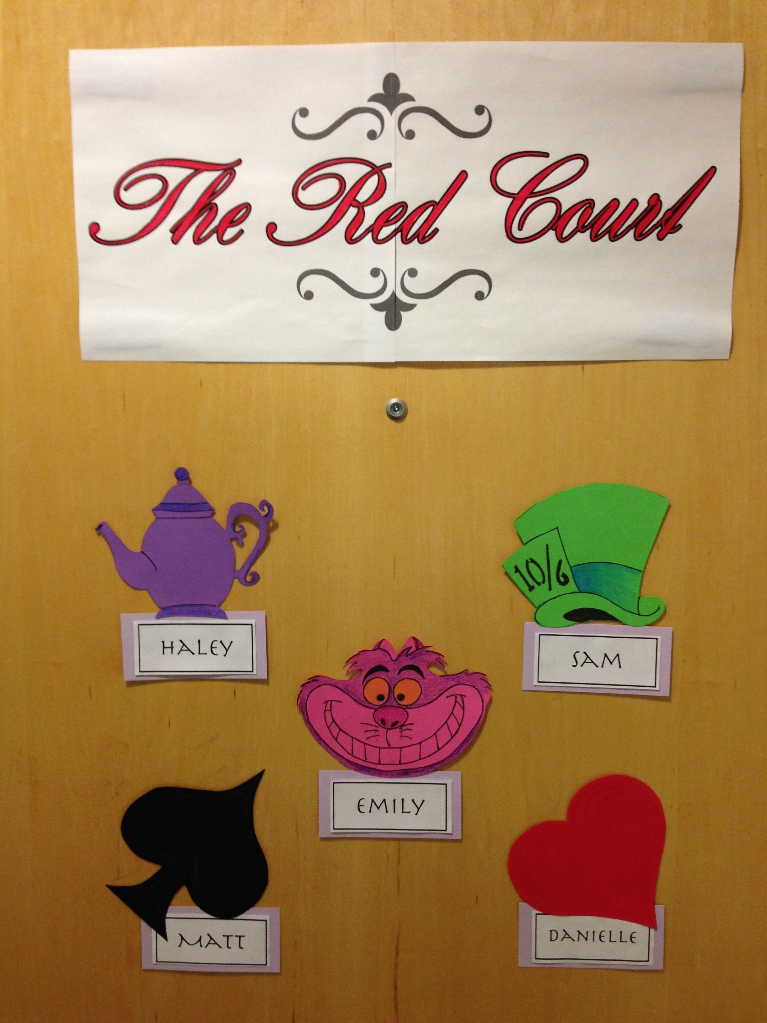 Creative suite style Disney themed door decs From the  ~ 190942_Halloween Door Decs Ra