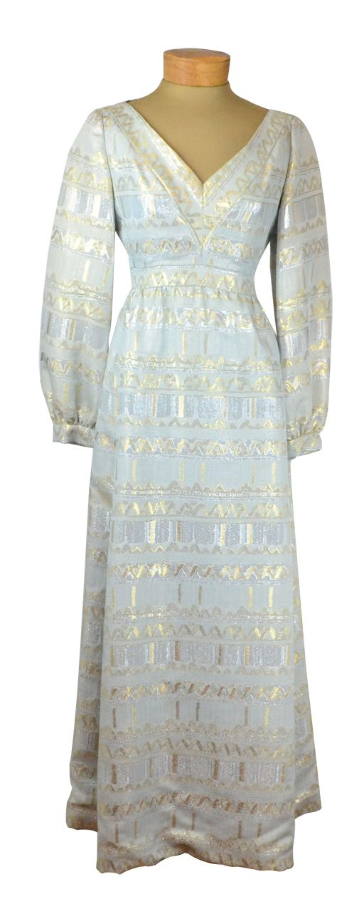 0f7f8ce93be6 True classic styling in a superbly crafted vintage 1960s brocade dress by  iconic designer Malcolm Starr