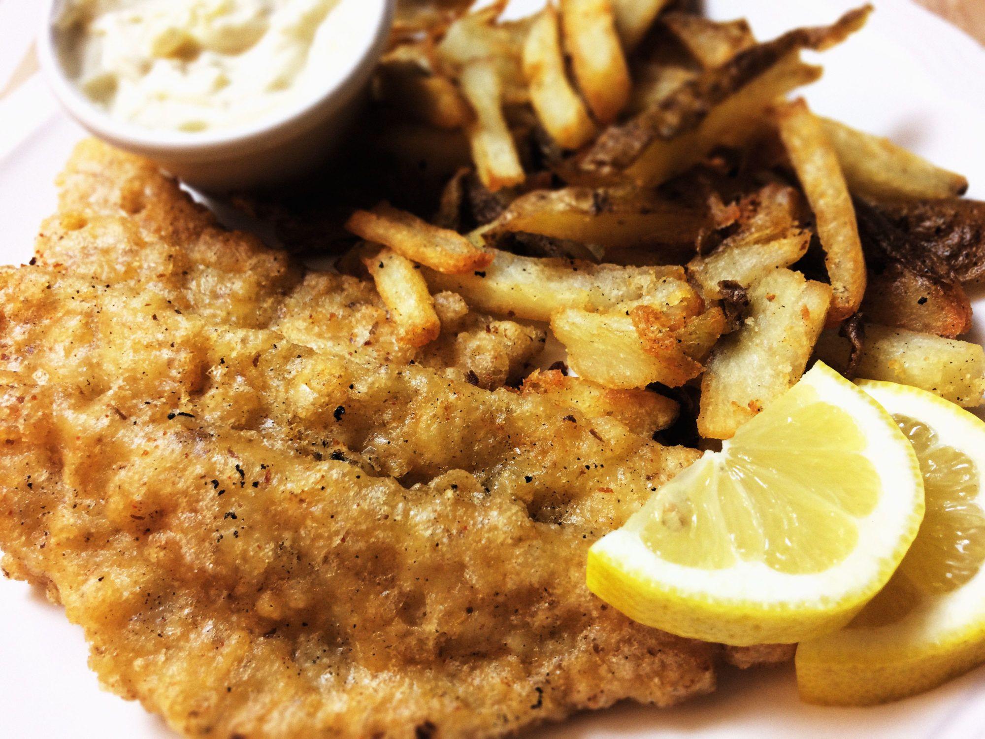 Vegan Fish And Chips Recipe Vegan Fish Vegan Fish Chips Fresh Fish Recipes