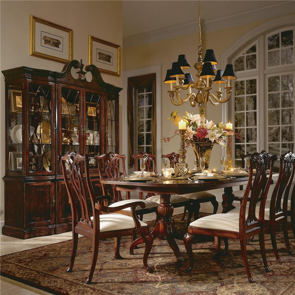 Cherry Grove 45Th 9 Piece Dining Setamerican Drew  Stuff To Fascinating 9 Piece Dining Room Inspiration