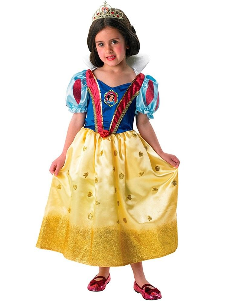 Head off to school this World Book Day in the Glitter Snow White Costume.  This pretty princess dress is officially licensed by Disney and has a skirt  that s ... e1d7b8bae4c