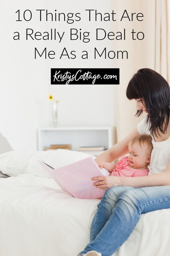 Photo of 10 Things That Are a Really Big Deal To Me As a Mom