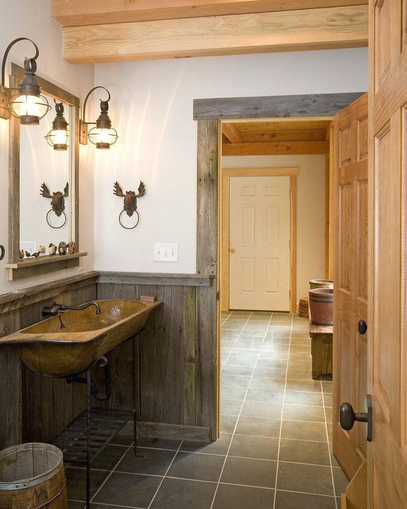 Rustic Barn Wood Ideas Trim Bathroom With Mirror Reclaimed Habitat Post Beam Home Design Free Trial