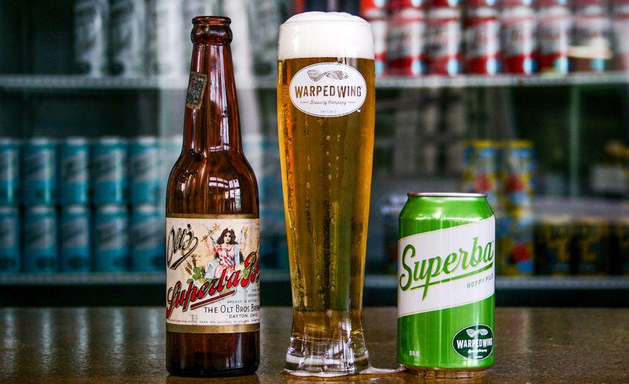 Warped Wing Brewing And Christian Moerlein Brewing Revive Regional Heritage Beer Brands In Southwest Ohio Beer Beer Bottle Art Beer Brands