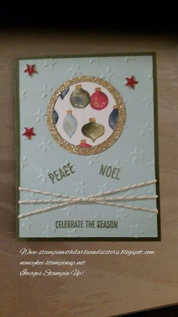 Stampin with Darla and Sisters: ICS Blog Hop Introducing the 2015 Holiday Catalog