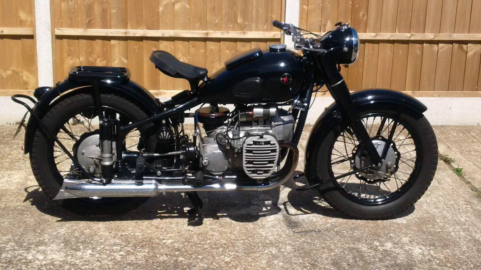 1956 Classic Ural IMZ M72 750cc sidevalve motorcycle | eBay