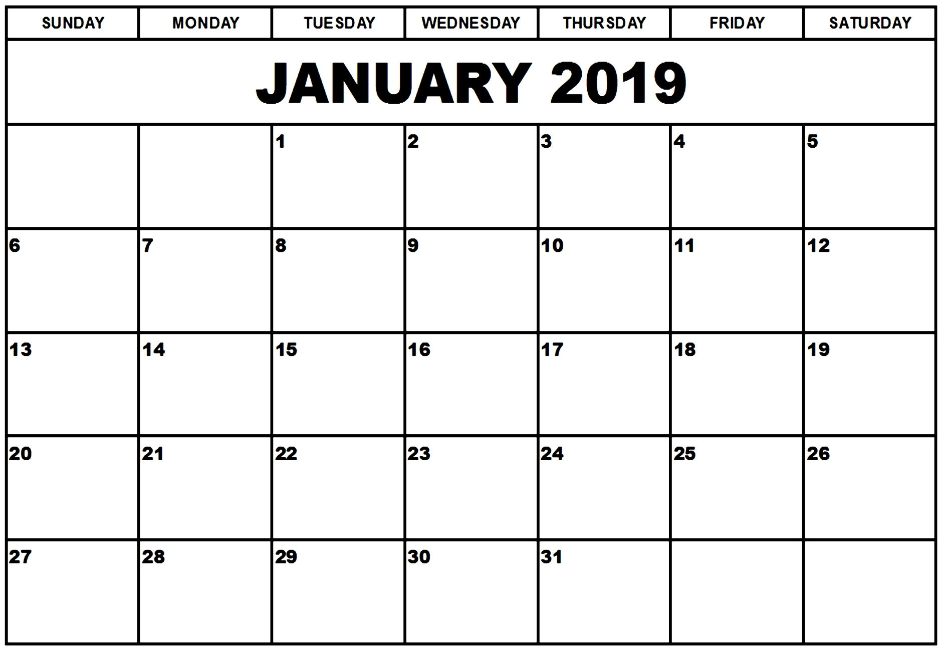 January 2019 Calendar Template Manage Work Monthly January2019 January2019calendartemplate Januar August Calendar Printable Calendar Template Excel Calendar