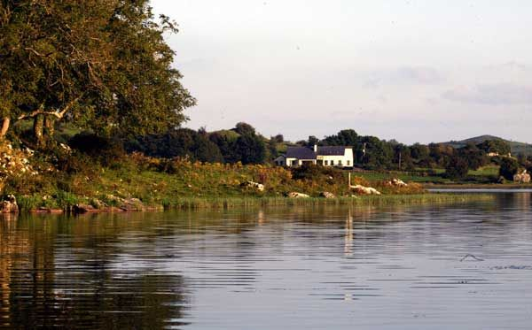 Desmond Lodge overlooking magical Lough Gur, County Limerick