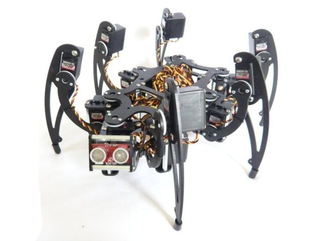 how to build a hexapod robot at home