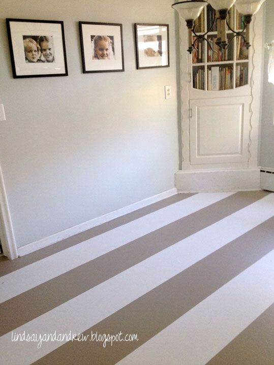 Painting Kitchen Linoleum Floors Diy The Colors Together Are