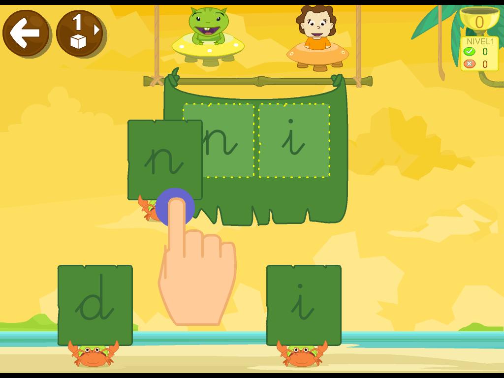 Aprender A Leer 1 App Leo Con Grin En Ios Y Android Aprendo A Leer Juegos Interactivos Para Niños Actividades Infantiles
