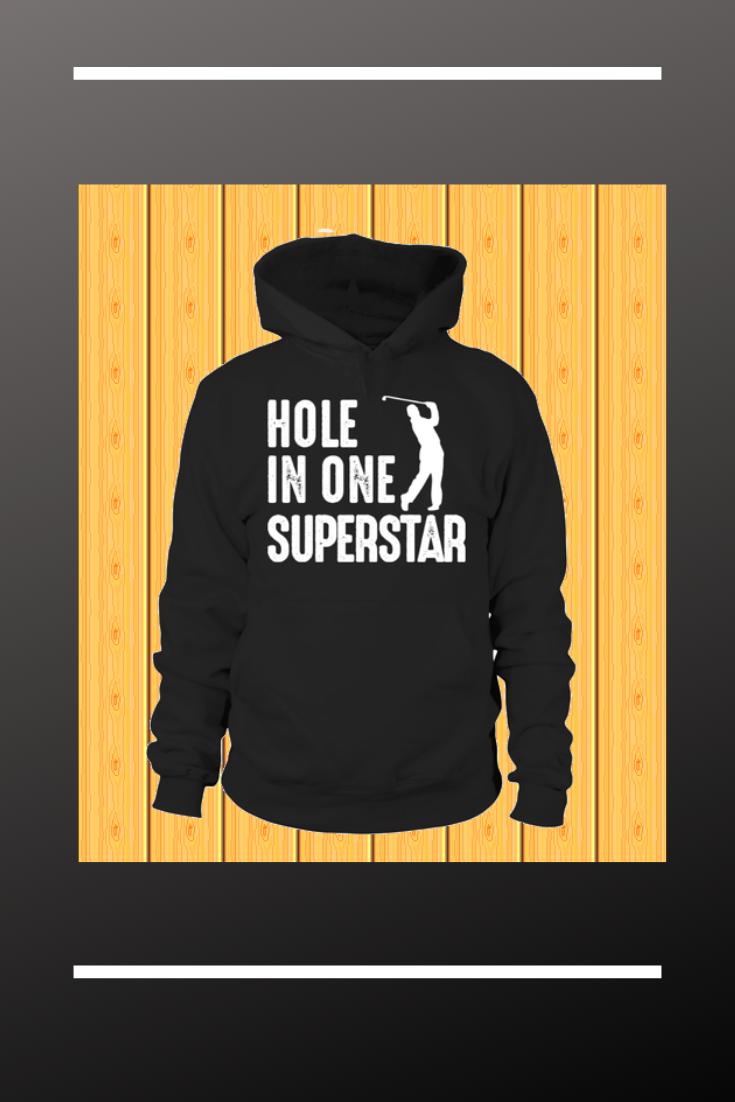 Dieses Hole In One Superstar Shirt ist das perfekte