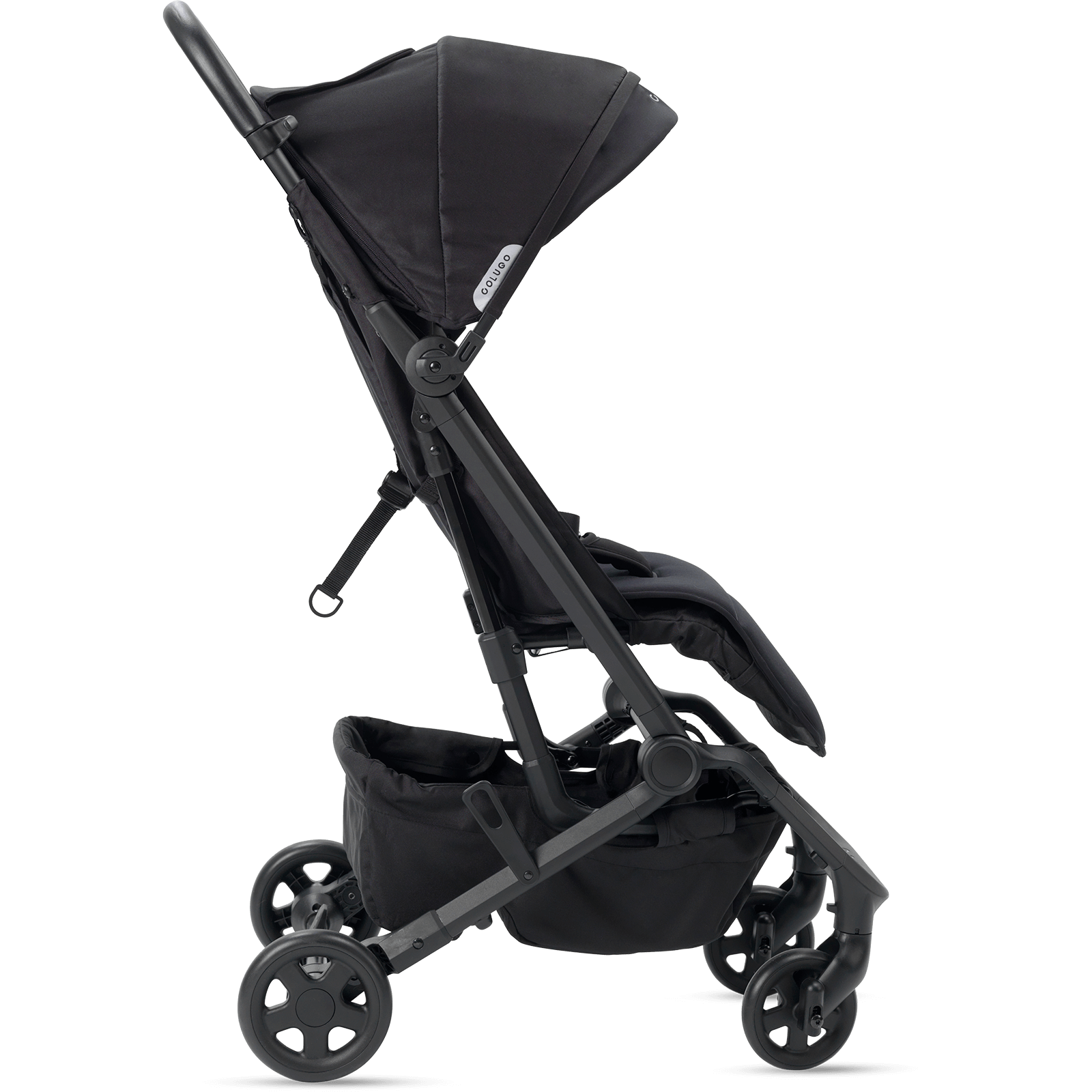 The Compact Stroller Black Travel stroller, Baby