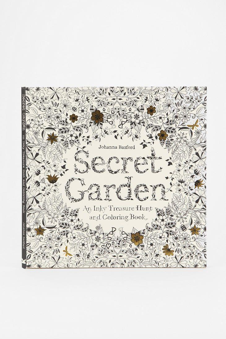 Secret Garden By Johanna Basford Its A Coloring Book