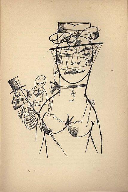 1920, by George Grosz (German 1893-1959)