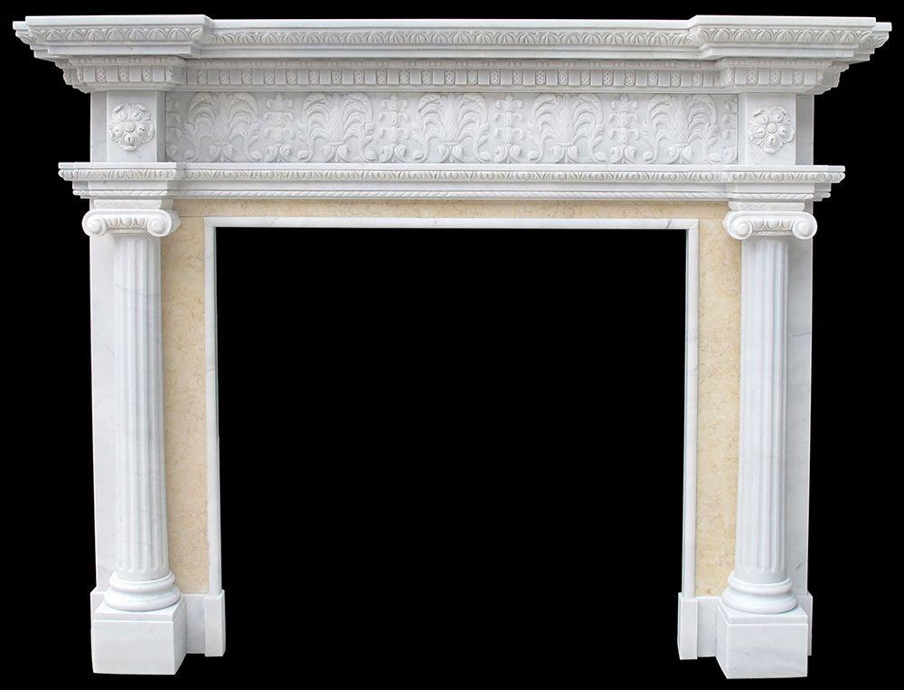 Marble Fireplace Cast Stone Mantels Limestone Surrounds