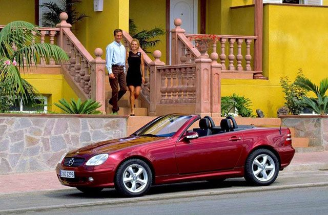 2004 Mercedes Benz Slk 320 Mercedes Benz Slk 1996 2004