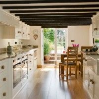 Light-filled country kitchen