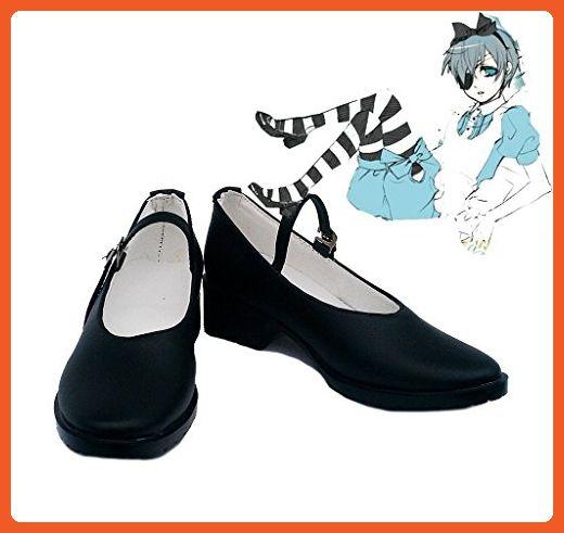 Black Butler OVA Kuroshitsuji Ciel Alice Cosplay Shoes Boots Custom Made