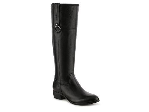 Crown Vintage Sorya Wide Calf Riding Boot $139.95 in black (size 6)