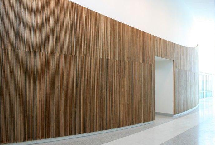 ARQchiTECHto: Painéis ripados de madeira