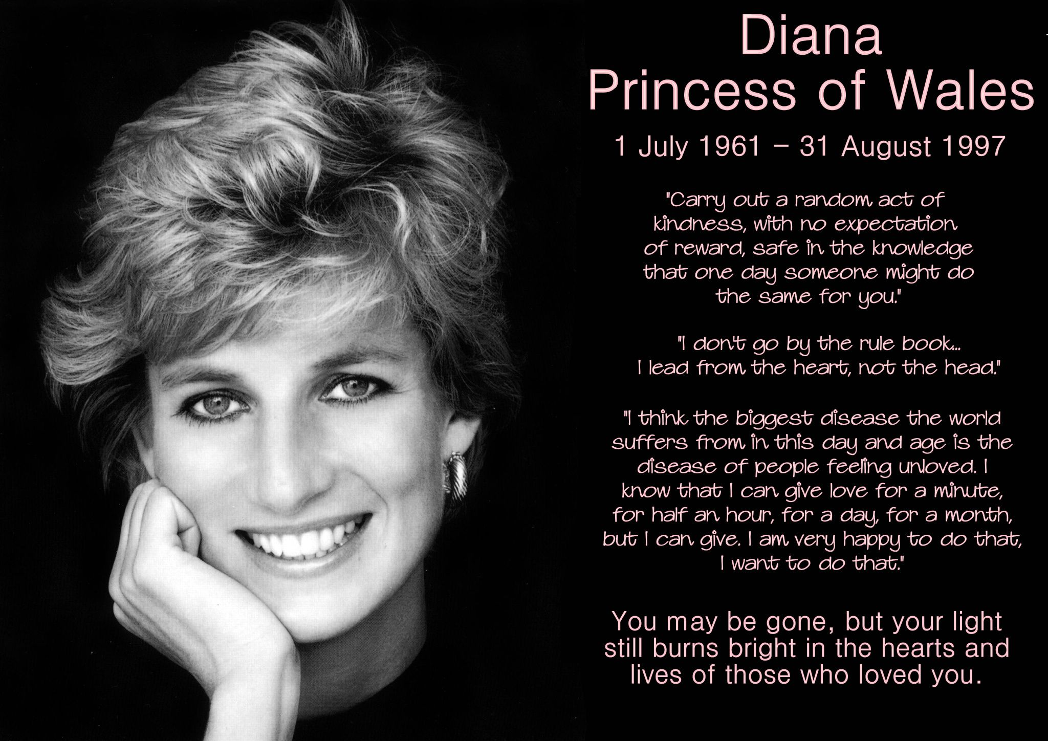15 Years… Remembering Princess Diana Princess diana