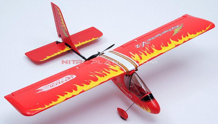 4-CH Wing Dragon 1180mm Remote Control RC Glider Plane 2 4G RTF