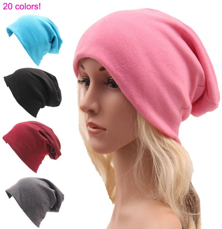 Winter beanies autumn gorros 20 color womens beanie hat women cotton solid  High Cost performance casual multifunctional skullies   Price   US  3.37    FREE ... 64cf9214d6