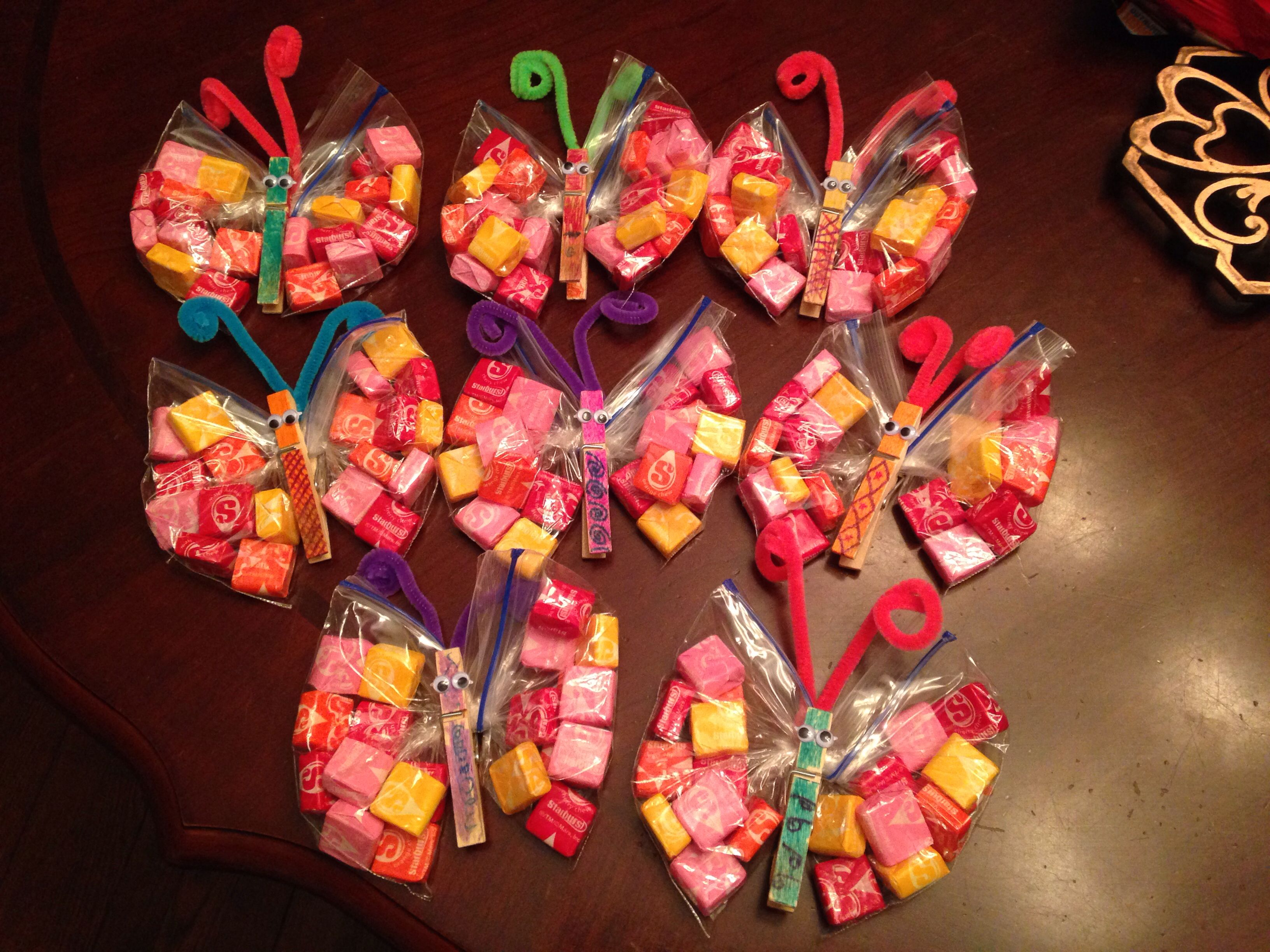 Butterfly treat bags butterfly birthday party butterfly