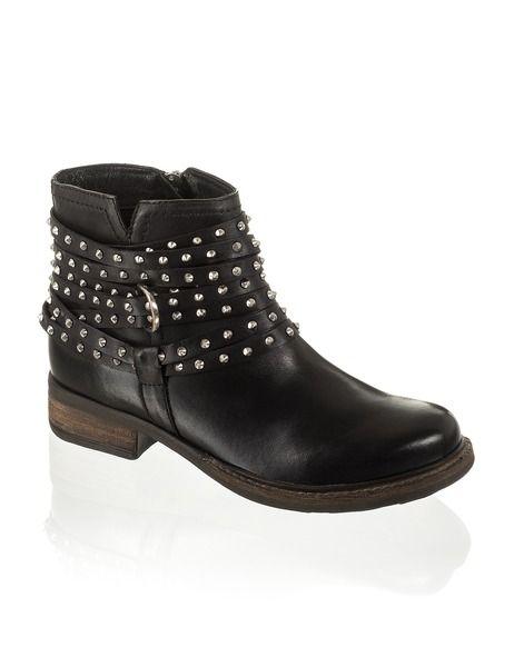 Gamloong Nieten Bootie <3   Boots, Shoes, Fashion