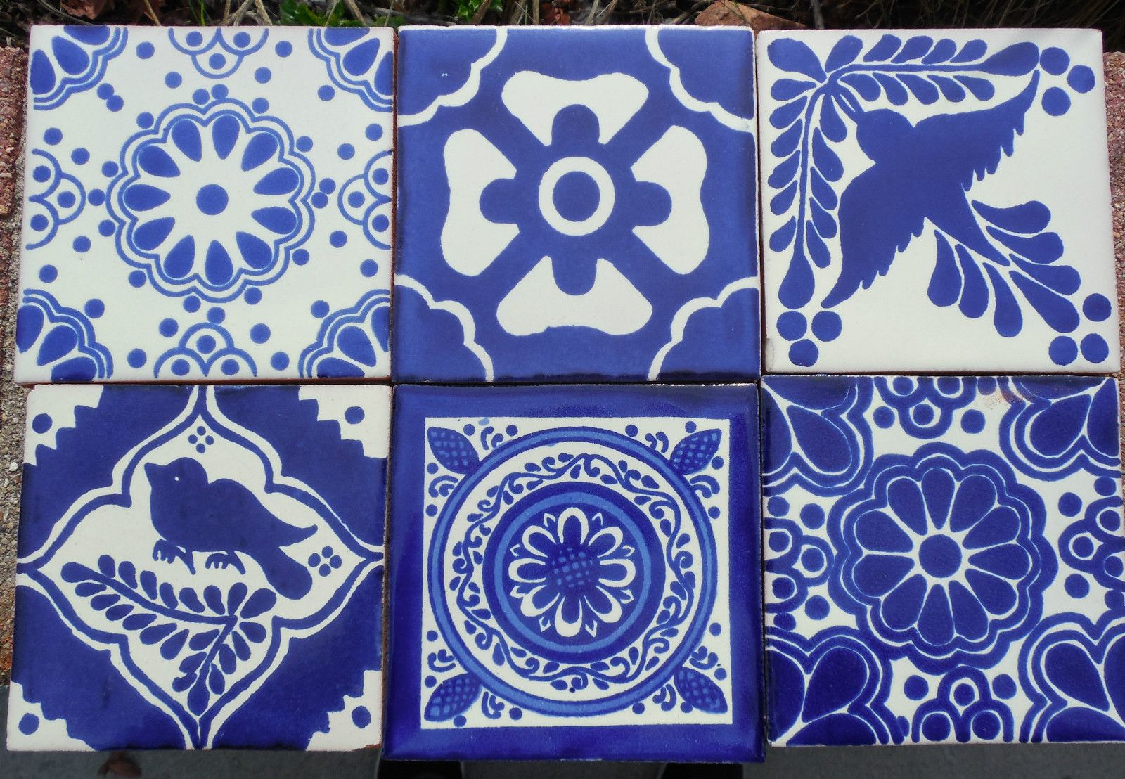 Details About 10 Talavera Mexican Pottery Tile 4 Clic