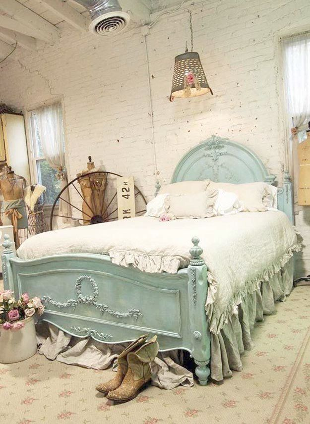 Vintage And Rustic Shabby Chic Bedroom Ideas Bedroom Inspiration