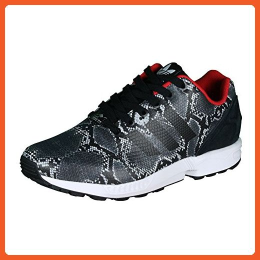 612a931a17bc6 ... ireland adidas womens zx flux black white leather trainers 7.5 us  sneakers for women 17d97 78135