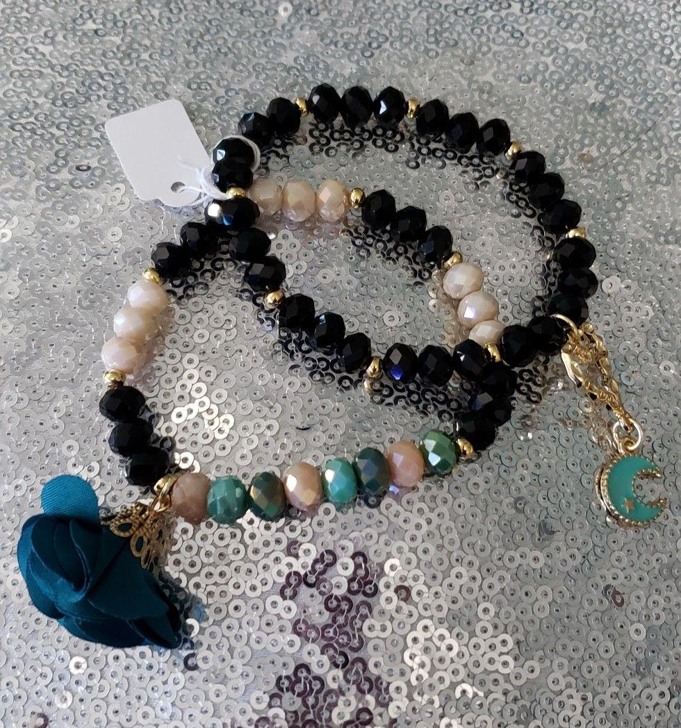 Mujer unisex pulsera pulsera con abalorios pulseras regalo presente