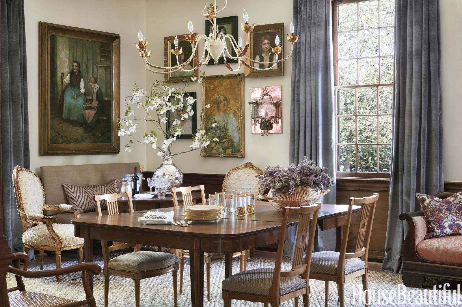A Traditional Virginia House Honors Its 18th Century Roots