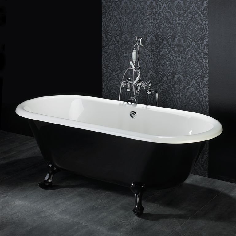 Baignoire Sur Pieds Baignoire Pieds Lion En Noir Et Blanc Bathroom
